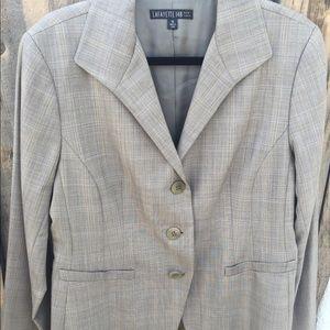 Plaid Grey Blazer
